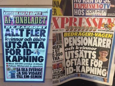 Aftonbladet-Expressen_ID-stöld ökar