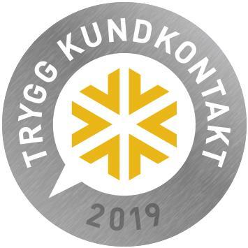 mySafety Trygg Kundkontakt 2019